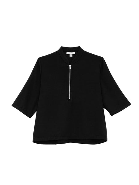Percy Top / Black Crepe