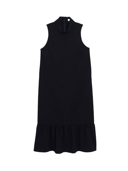 Iris Dress / Black Twill