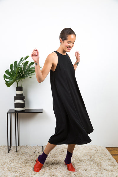 Jimson Dress / Black Twill