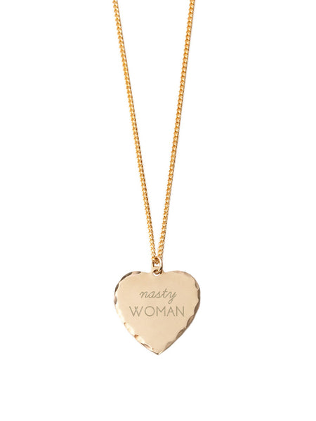 Sweet Nothing Necklace / Nasty Woman