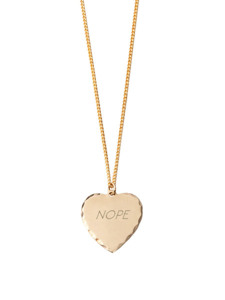 Sweet Nothing Necklace / Nope