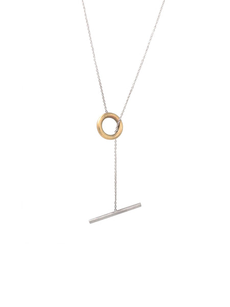Oi Mini Toggle Necklace