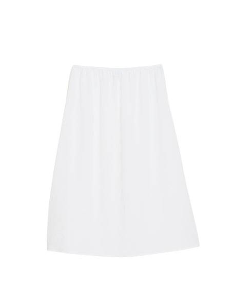 Patio Skirt / White Twill