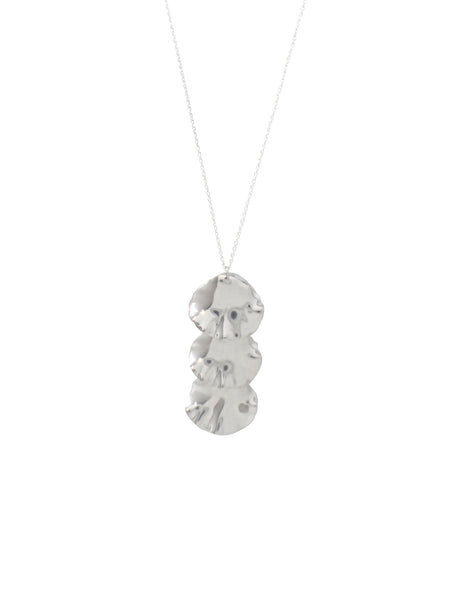 Tameko Stacked Necklace / Silver