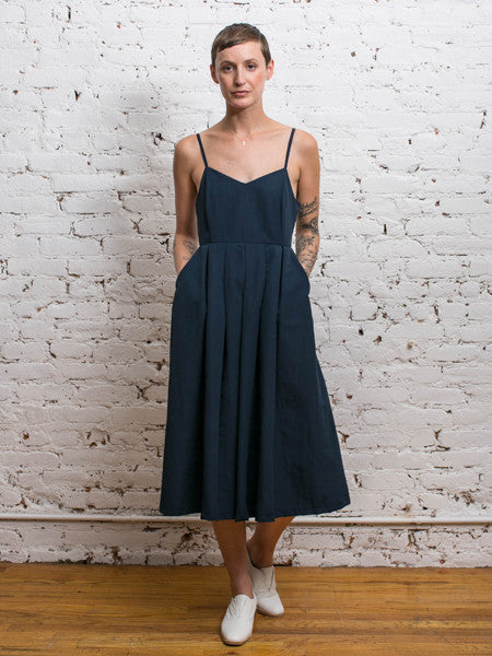 Beacon Jumpsuit / Navy Taslan