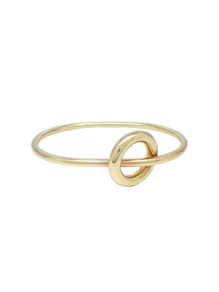 Oi Toggle Bangle / Brass