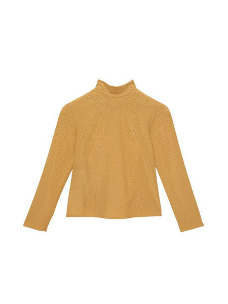 Carbide Turtleneck / Yellow Perf