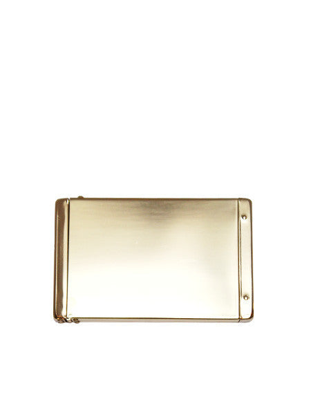 Flip Top Card Case / Brass