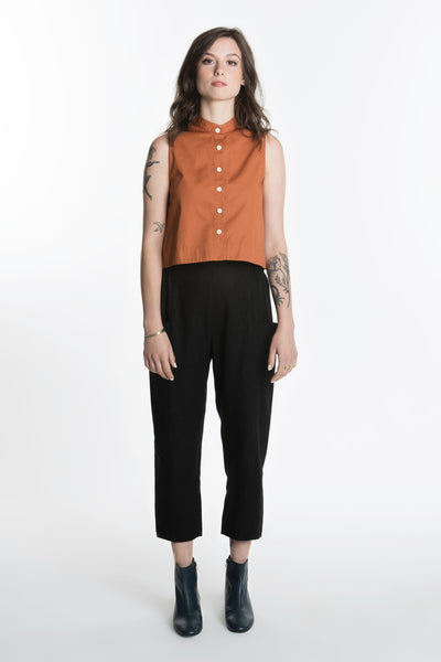 Carioca Shirt / Rust Combed Cotton