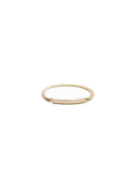 Chain Ring / Gold