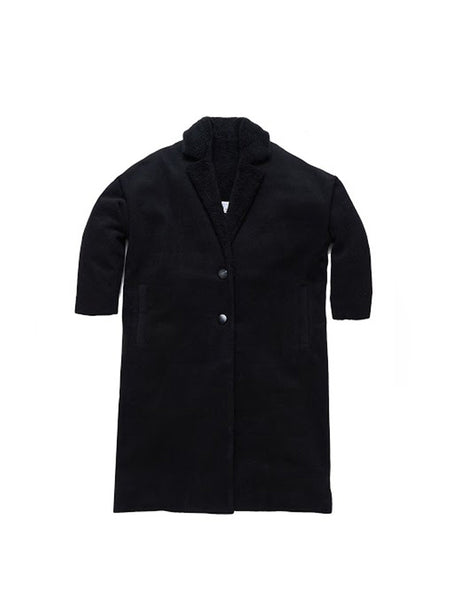 Favrile Coat / Black Wool