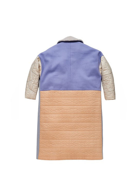 Favrile Coat / Multi Quilted
