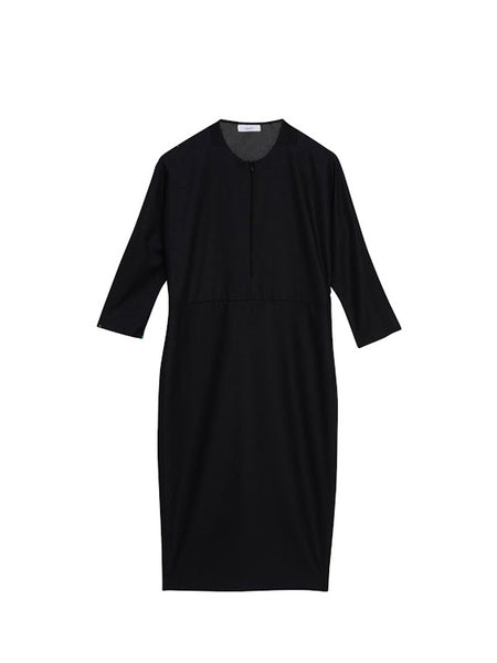Foturan Dress / Black Cashmere