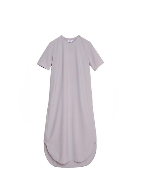 Hebron Dress / Grey Poplin