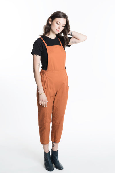 Leblon Pant / Rust Combed Cotton
