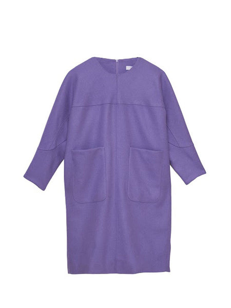 Marianne Dress / Lavender Wool