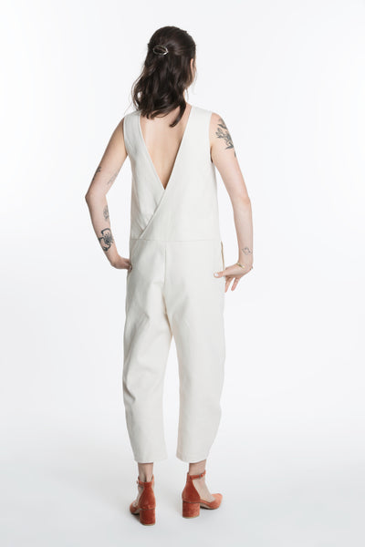 Mather Jumpsuit / 10oz Natural Duck