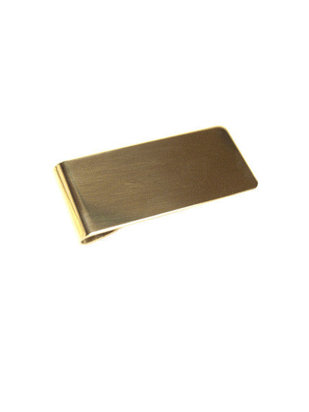 Custom Money Clip / Brass
