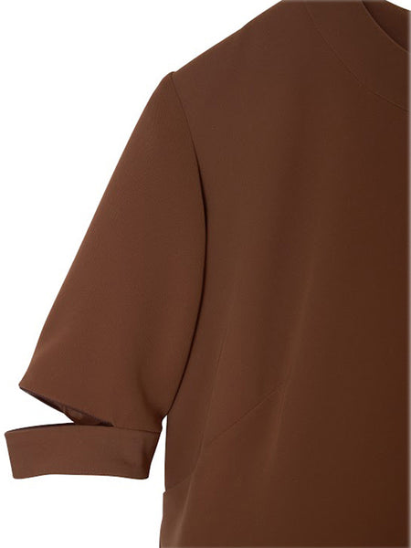 Rouge Top / Brown Doublecloth