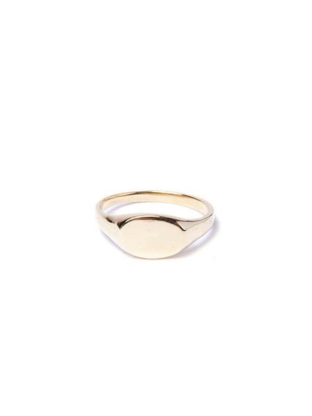 Custom Signet Ring / Gold