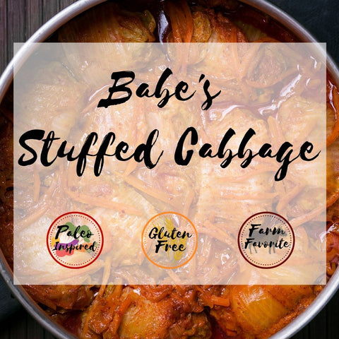 Babe's Stuffed Cabbage
