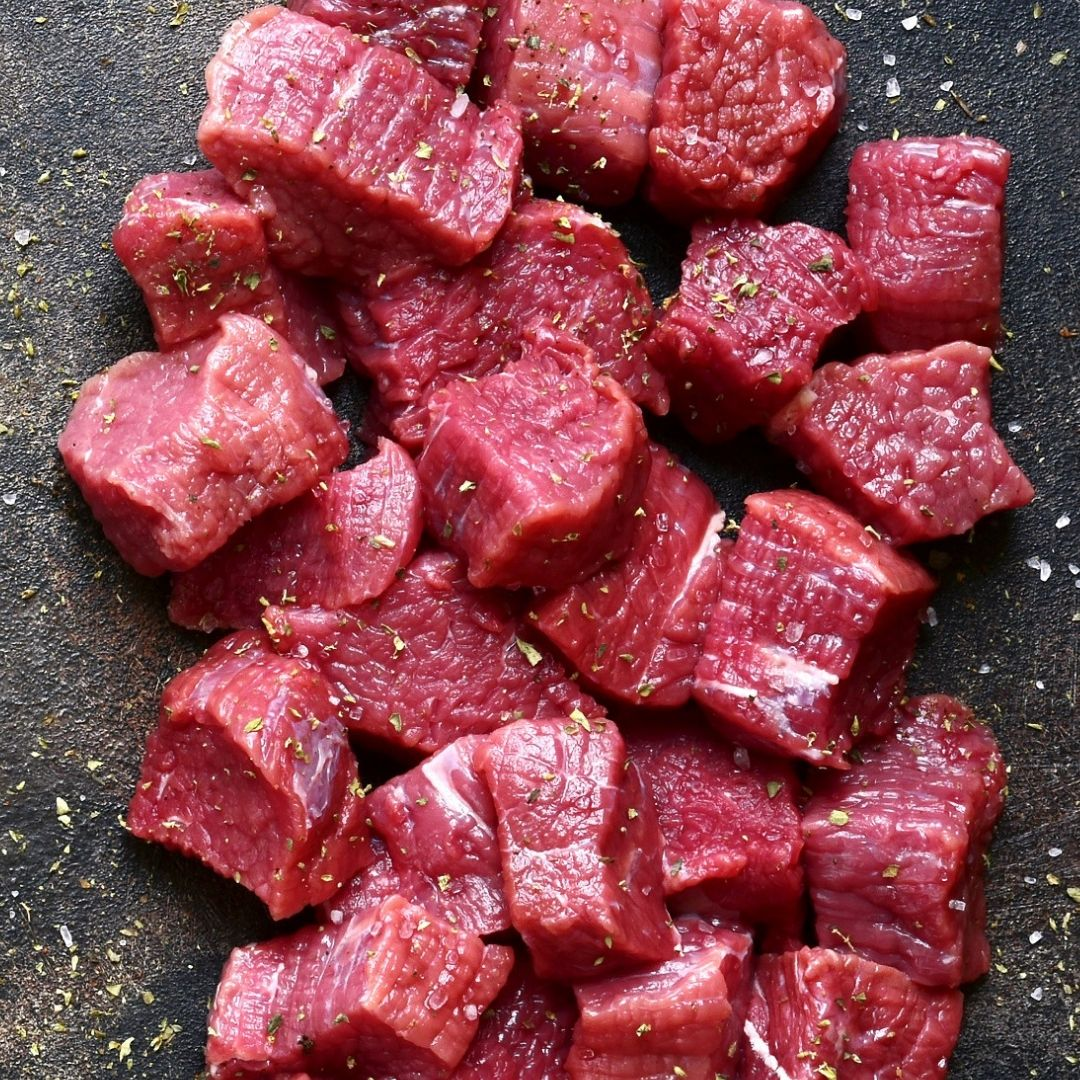 Beef Kabob from Filet (Filet Tips)