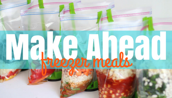 Make Ahead - Freezer Meal Bundles