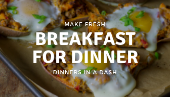 Breakfast for Dinner-Make Fresh Weekly Delivery
