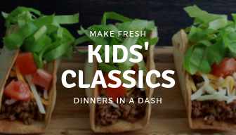 Kids' Classics-Make Fresh Weekly Delivery