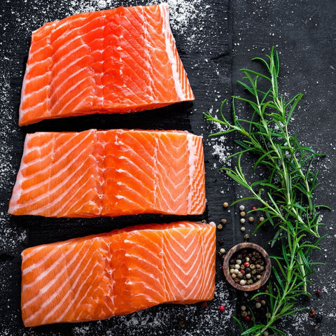 Wild Caught Salmon Filets
