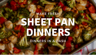 Sheet Pan Dinners-Make Fresh Weekly Delivery