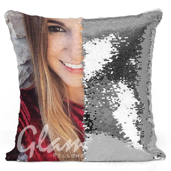 Personalized Reversible Sequin Glam Pillow Add Your Own