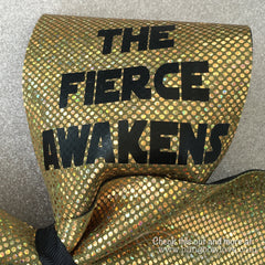 The Fierce Awakens Bow - Gold - Bling Bow Love - 2
