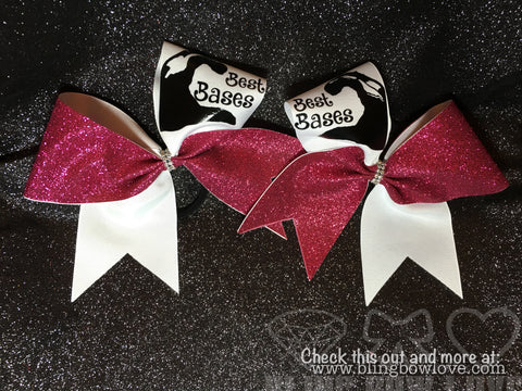 Set- Best Bases Bow Set - Bling Bow Love
