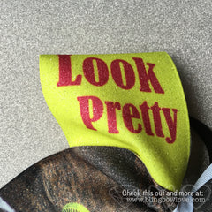 Look Pretty, Play Dirty Softball Bow - Bling Bow Love - 3