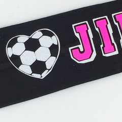 Soccer Headband - Glow in the dark - Bling Bow Love - 2