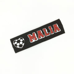 Soccer Headband - Glow in the dark - Bling Bow Love - 5