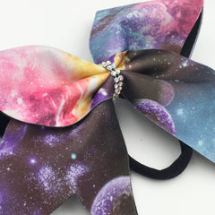 Galaxy Print Bow - Bling Bow Love - 3