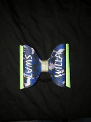 SWAT Tailless bow - Camo over Green
