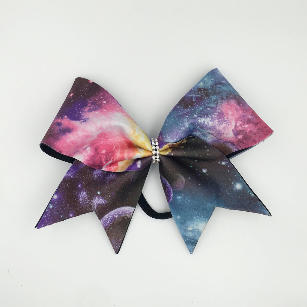 Galaxy Print Bow - Bling Bow Love - 1