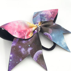 Galaxy Print Bow - Bling Bow Love - 2