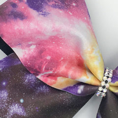 Galaxy Print Bow - Bling Bow Love - 4