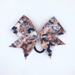 Meow Bow, Cheer Bow, Cat Bow, Kitty Bow - Bling Bow Love - 4