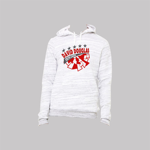 DDYC Cheer Hoodie - Light Gray Marble