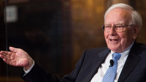 Warren Buffett sitting