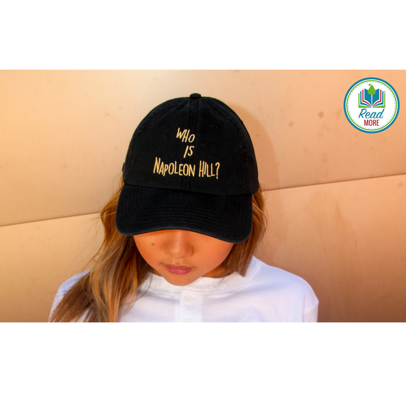 2083ee71238f7 Who is Napoleon Hill  Dad Hat – ReadMoreCO