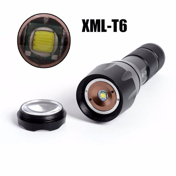 Mission Critical Night Sentry Flashlight L2 T6 with case LED