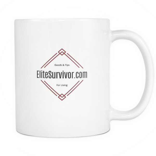 EliteSurvivor Logo 11oz Coffee Tea Mug -- Free USA shipping
