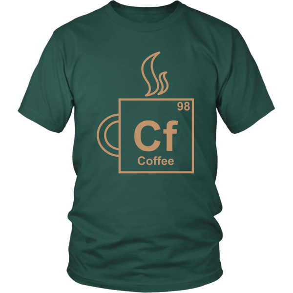 Coffee Element T-shirt and Hoodie for Lovers of Coffee