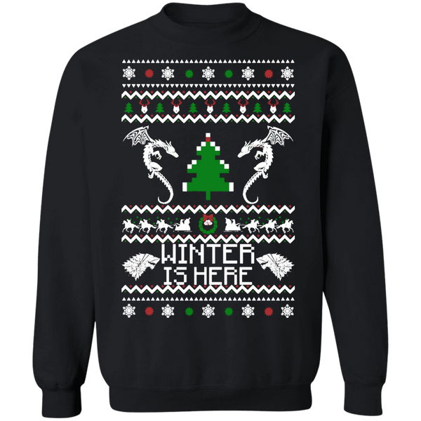 Winter is here ugly christmas sweater